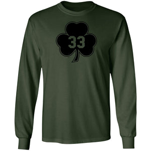 -Men's Premium Cotton #33 Shamrock Black Version