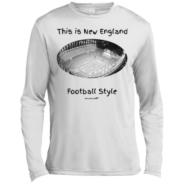 This is New England Football Style Moisture Absorbing T-Shirt : Simply Awesome