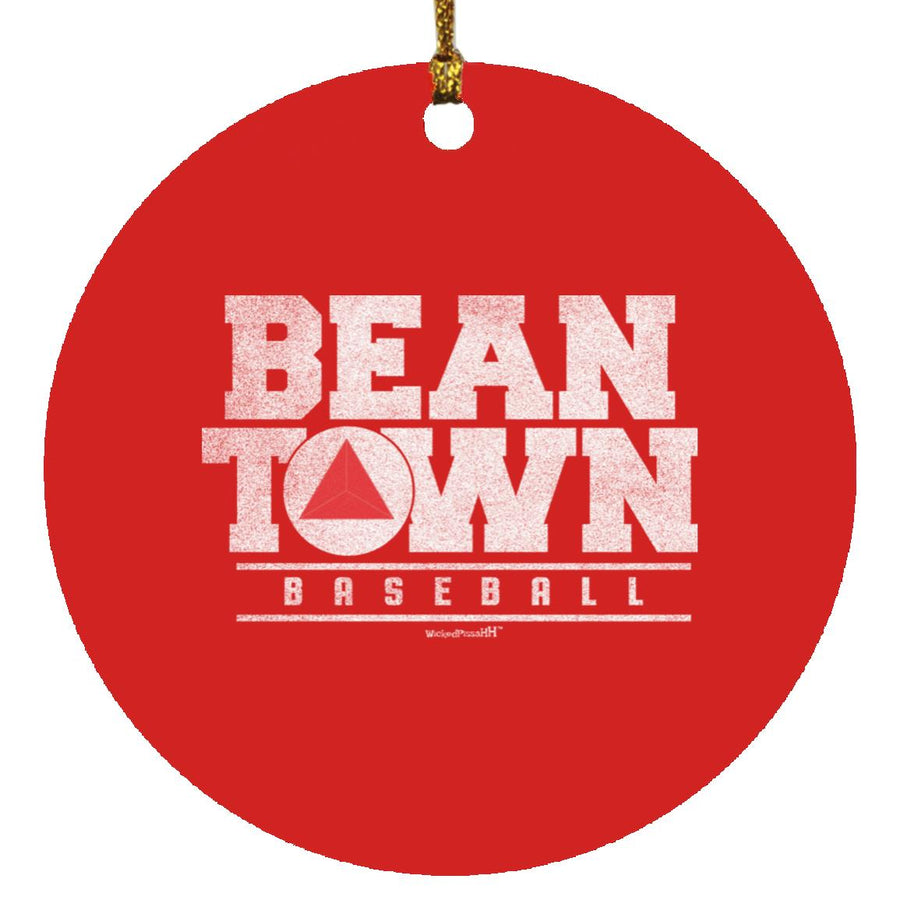 Bean Town Baseball Ornament
