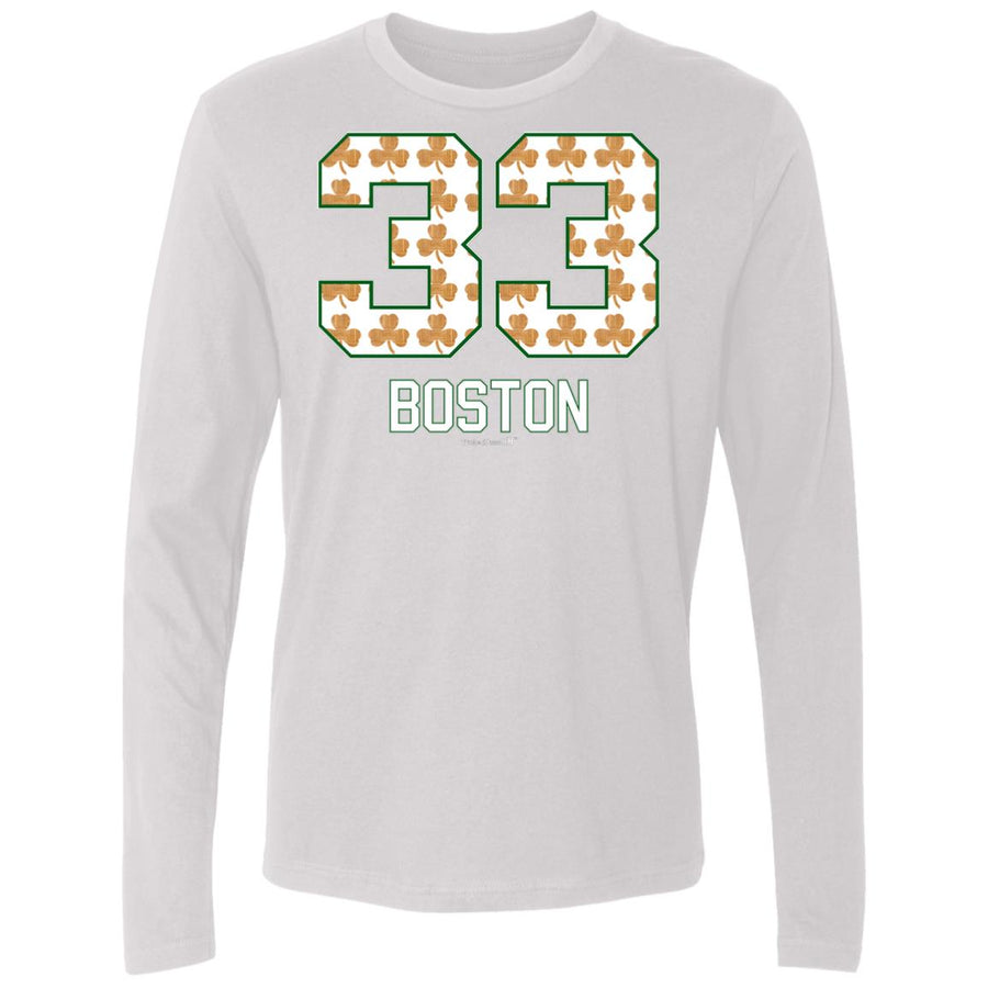 Men's Premium Cotton #33 Boston Basketball
