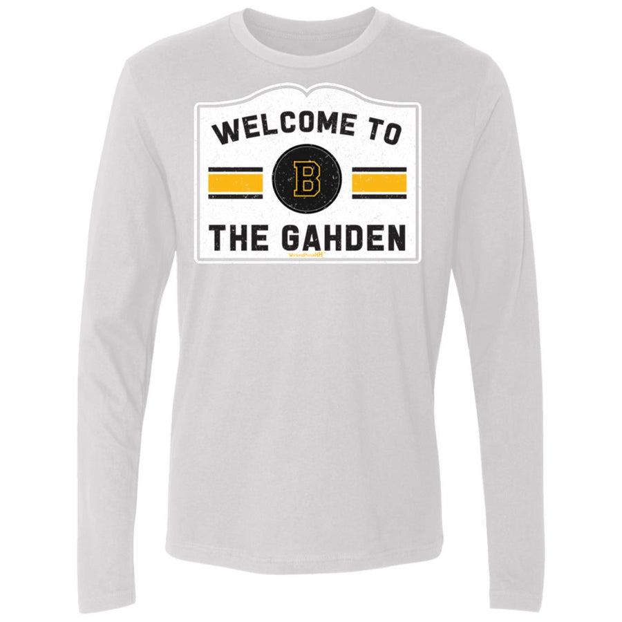 Men's Premium Cotton Welcome to the Gahden