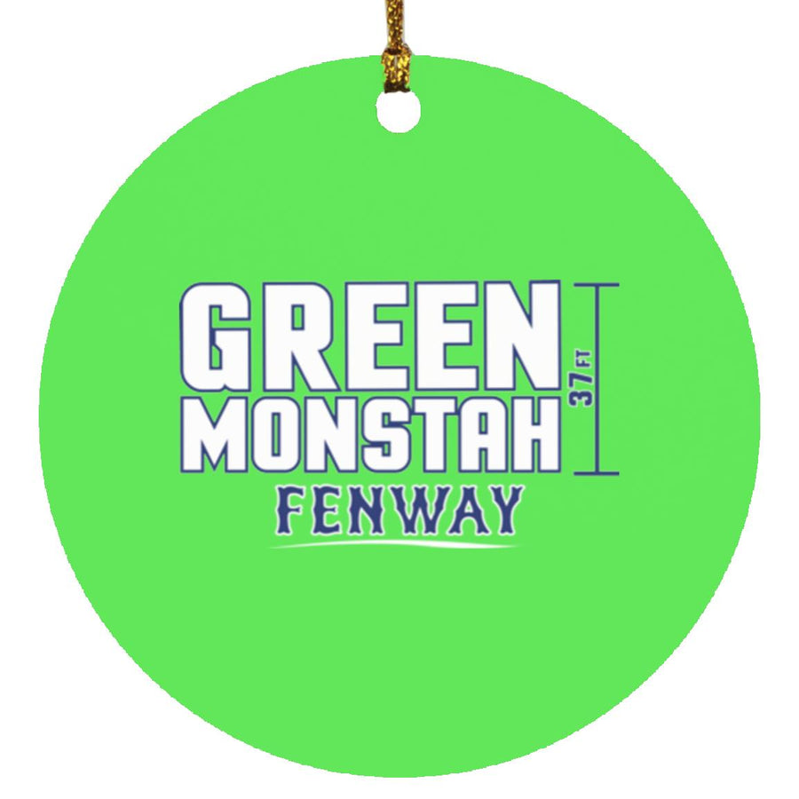 Green Monstah Ornament