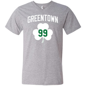 Men's Premium Cotton Greentown Basketball #99