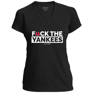 Women's Premium Cotton F*ck the Yankees White Letters+