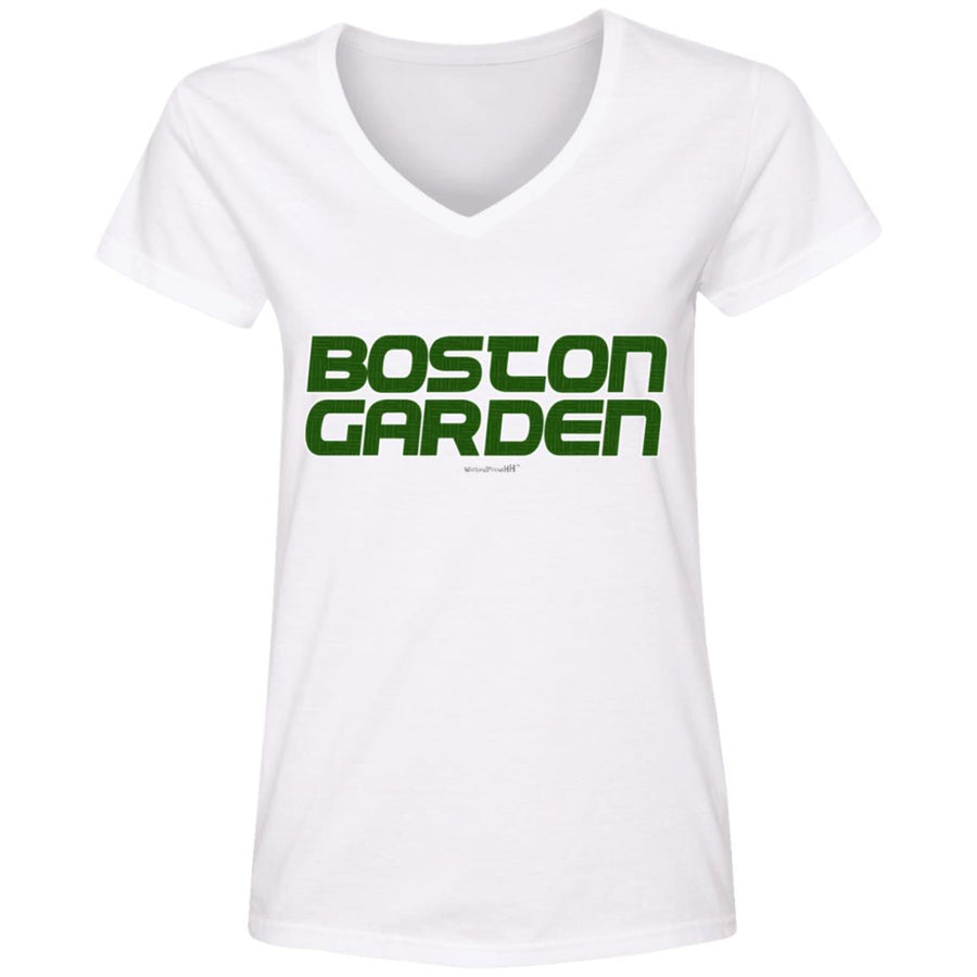 WPFC Women's V-Neck T-Shirt Boston Garden