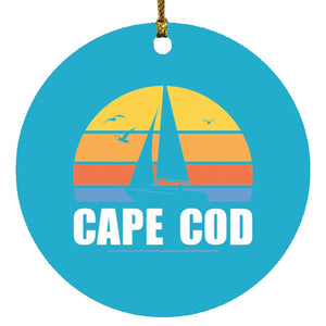 Sail Away Cape Cod Ornament