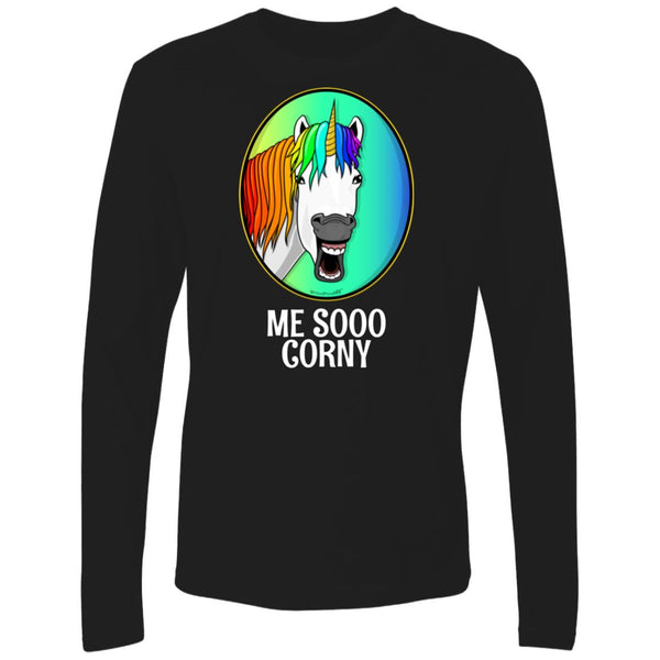 Men's Premium Cotton Me Sooo Corny Unicorn