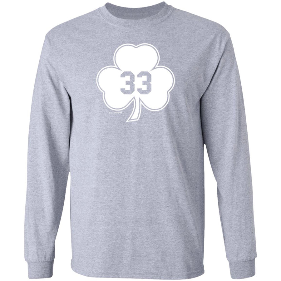 -Men's Premium Cotton #33 Shamrock White Version