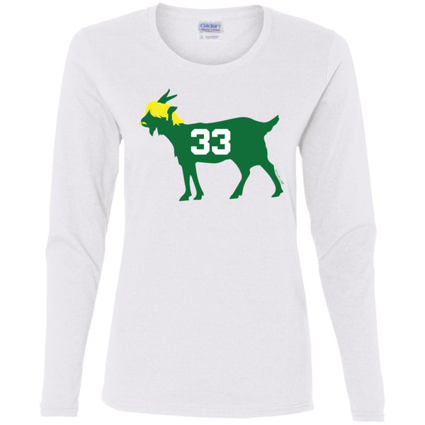 #33 GOAT Women's Premium Cotton