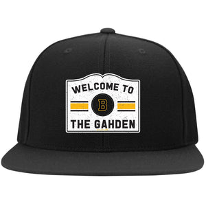 Welcome to the Gahden Flat Bill Snapback Hat