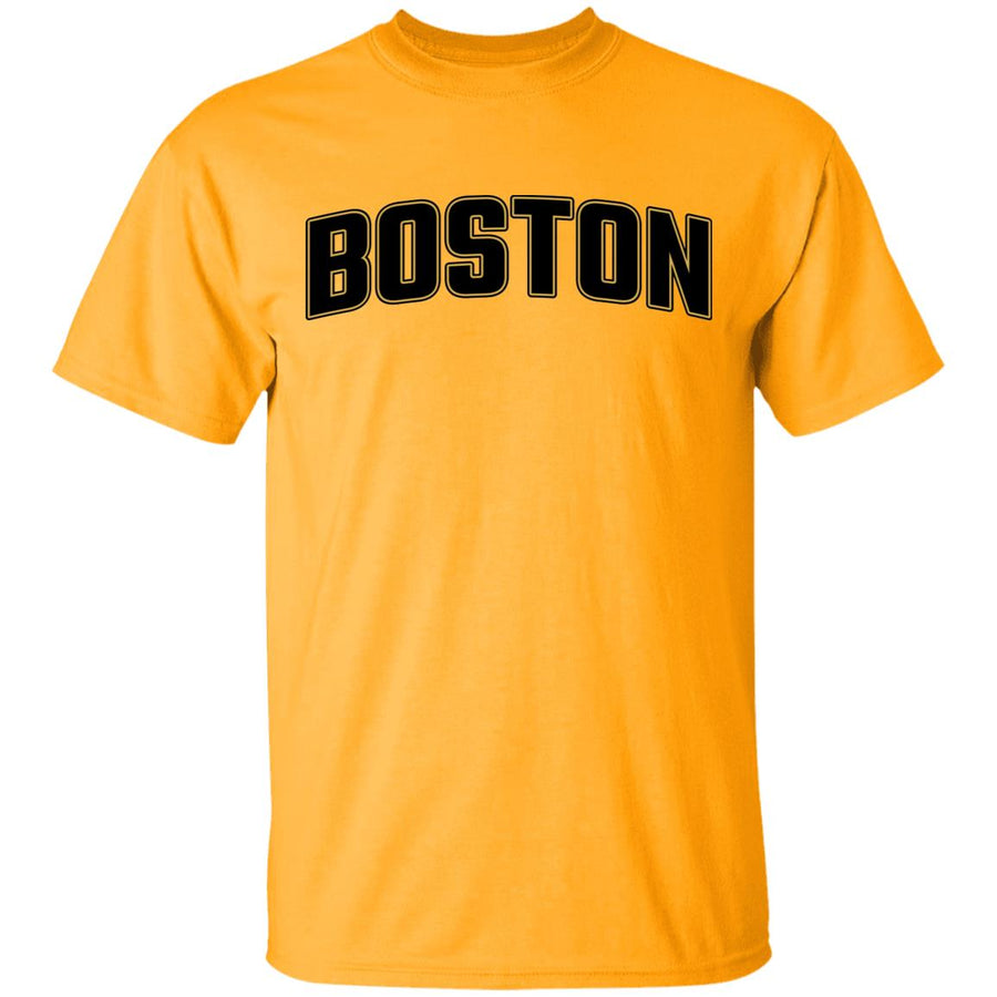 -Men's Premium Cotton Boston Hockey Themed