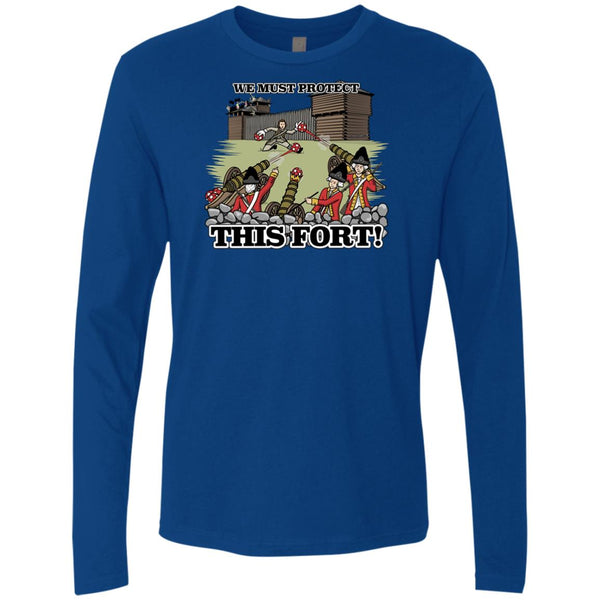 -Men's Premium Cotton Protect This Fort! Soccer.