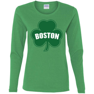 Boston Shamrock Women's Premium Cotton