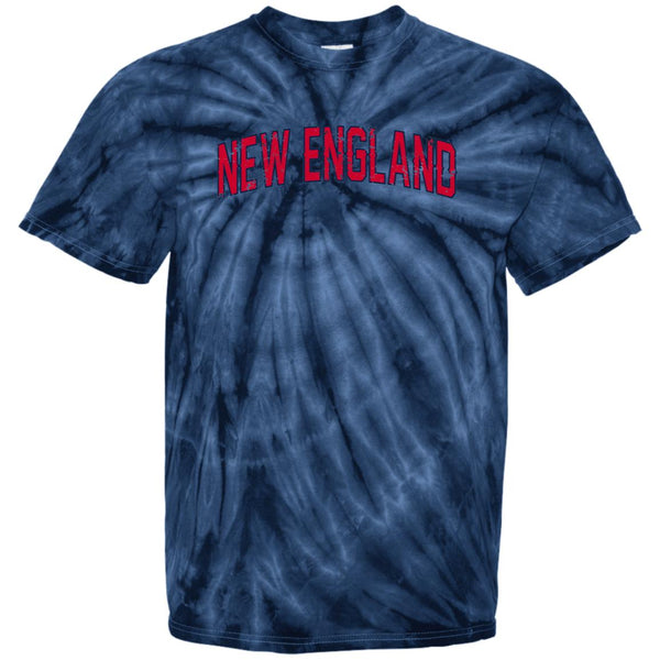 -Men's Premium Cotton Tie Dye New England Distressed