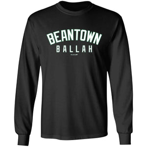 Men's Premium Cotton Beantown Ballah White Letters
