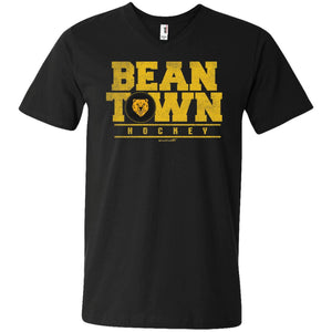 Men's Premium Cotton Beantown Hockey with Bear
