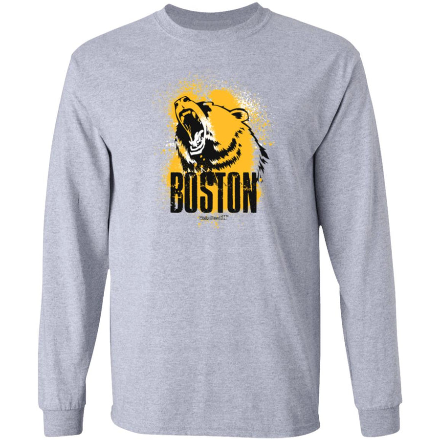 Men's Premium Cotton Roaring Boston Bear.