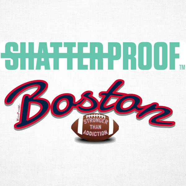 -Men's Premium Cotton Shatterproof Boston Football
