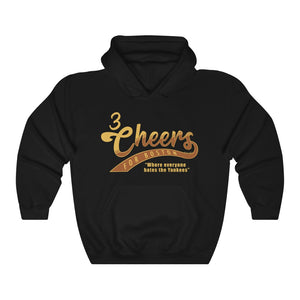 Unisex Outah-Wear 3 Cheers for Boston! Hooded Sweatshirt