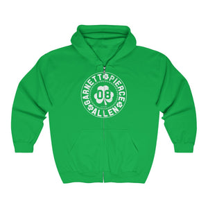 '-Unisex Outah-Wear The Big 3 Heavy Full Zip Hoodie