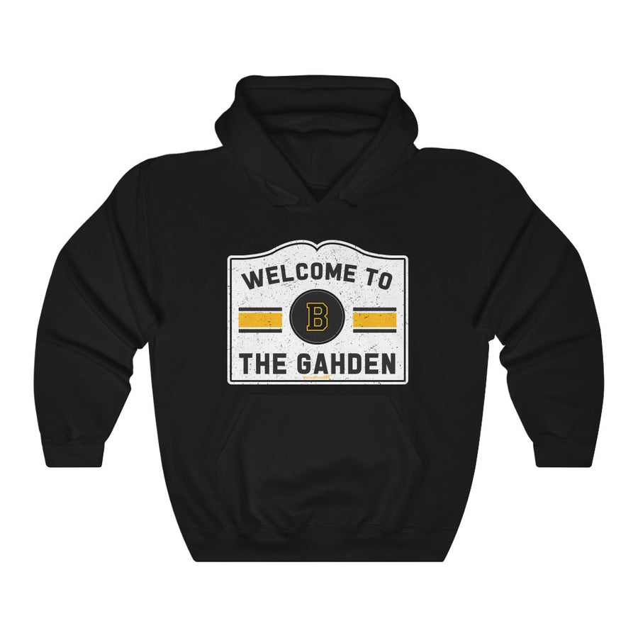 Unisex Outah-Wear Welcome to the Gahden Hooded Sweatshirt