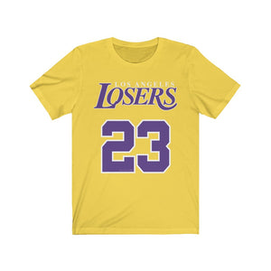 Women's Premium Cotton Los Angeles Losers Unisex Jersey Short Sleeve Tee