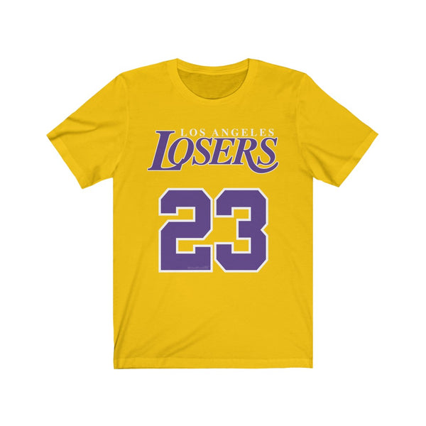 Men's Premium Cotton Los Angeles Losers Jersey Short Sleeve Tee