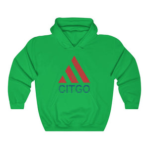 Unisex Outah-Wear 80's Citgo Design Heavy Blend™ Hooded Sweatshirt