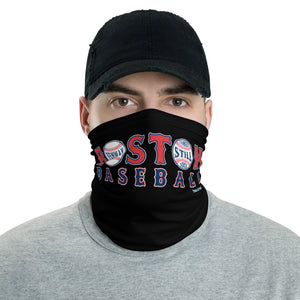Unisex Boston Baseball logo w/Yankees Suck Face Shield/Neck Gaiter