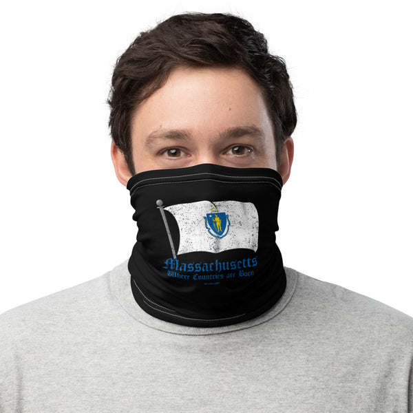 Unisex MA Where Countries are Born Face Mask/Neck Gaiter