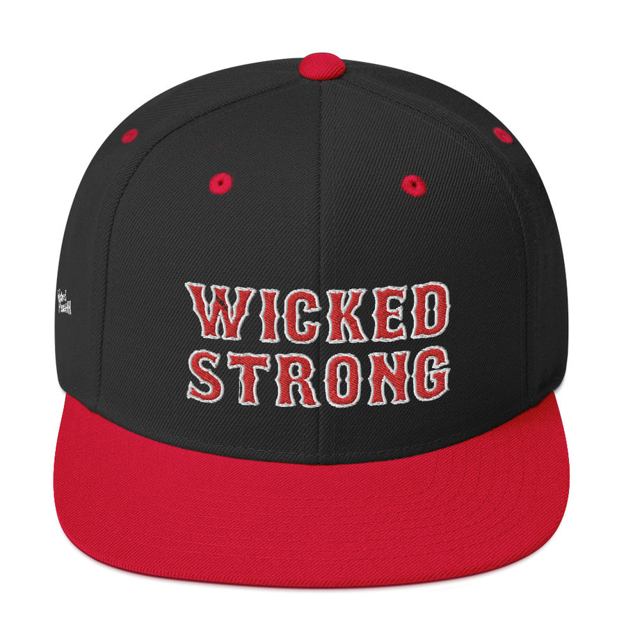 Unisex Wicked Strong Snapback Hat