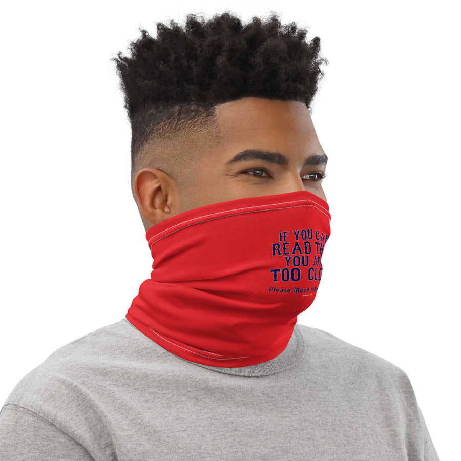 Unisex Step Fatha Back Boston Accent Face Shield/Neck Gaiter