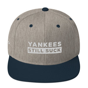 Unisex Yankess Still Suck Snapback Hat
