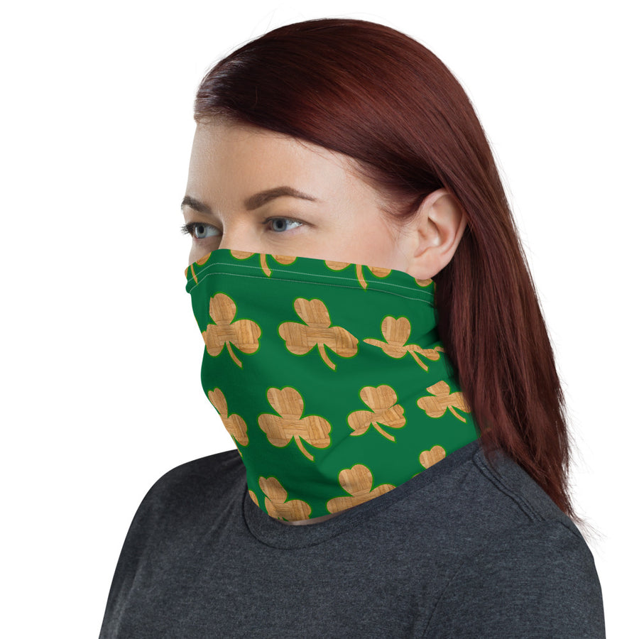 Unisex Boston Garden Clover Face Shield/Neck Gaiter