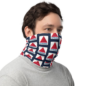 Unisex Boston Strong Sign Neck Gaiter/Face Shield