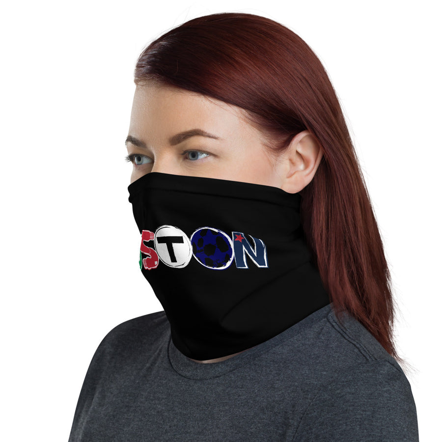 Unisex Boston All Teams Logo Face Shield/Neck Gaiter