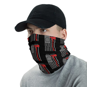 Unisex First Responder Flag Neck Gaiter