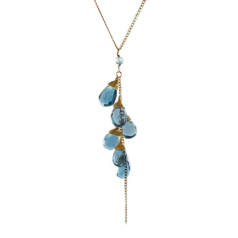 Sara-Danielle-london-blue-topaz-necklace