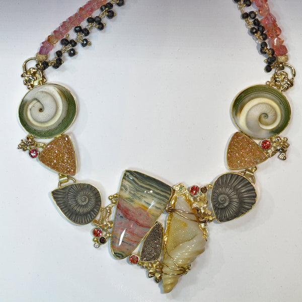 Jasper-drusy-quartz-necklace-22k-18k-gold-kalled