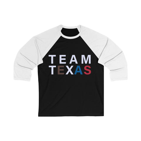 Team Texas 3/4 Sleeve Tee