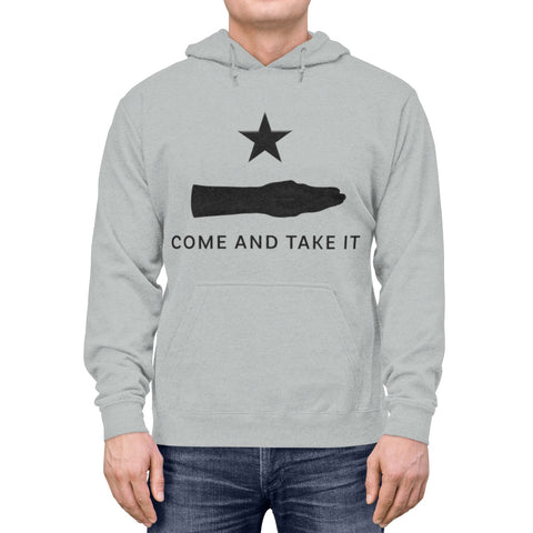 "Texas ""Come and Take it""  Hand Hoodie"