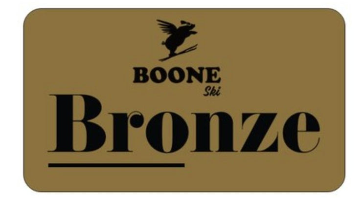 Boone Mountain Sports - Boone Tune Club Card - Bronze