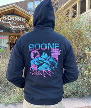 Boone Mountain Sports - M BOONE SKI RETRO HOODIE