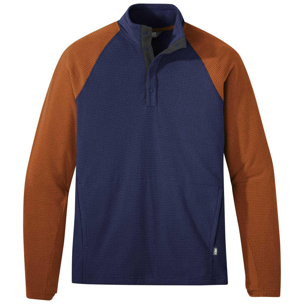Boone Mountain Sports - M TRAIL MIX SNAP PULLOVER