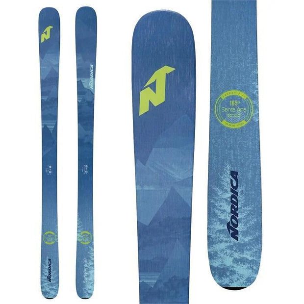 Boone Mountain Sports - NORDICA SANTA ANA 88 SKI- 2021
