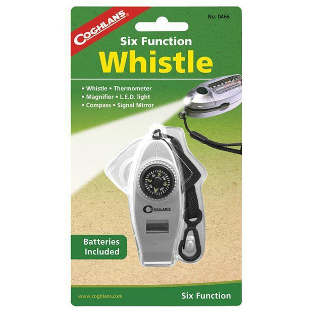 Boone Mountain Sports - SIX FUNCTION WHISTLE