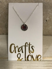 Boone Mountain Sports - STAMPED TINY PHRASE NECKLACE