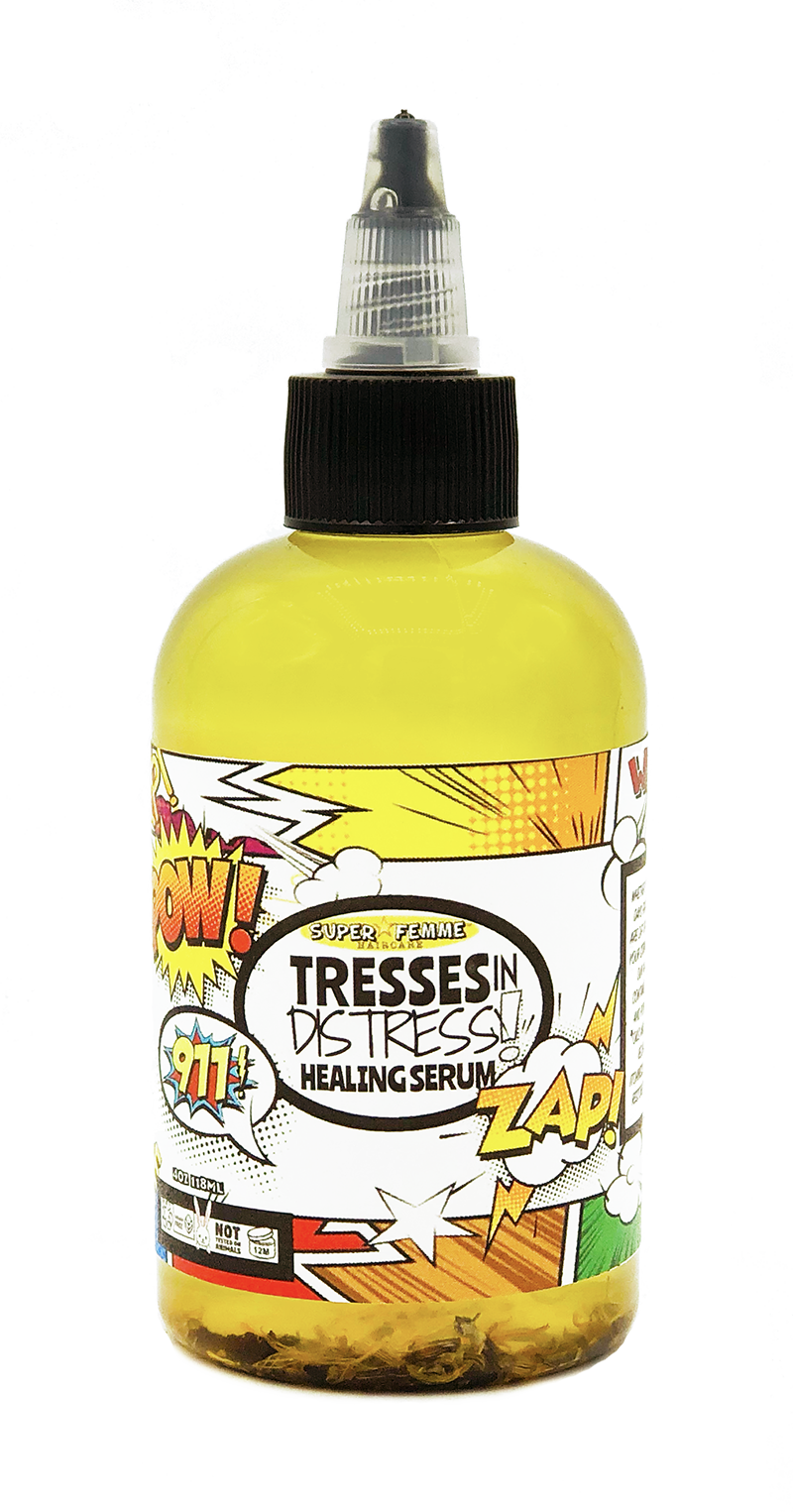 Tresses In Distress Healing Serum