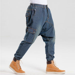 Casual Retro Low-End Jeans