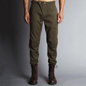 Mens Fashion Casual Button Tooling Harem Pants